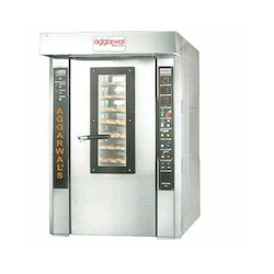 42 tray Industrial Rotary Rack Oven