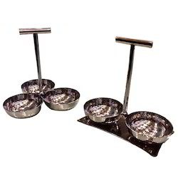 Condiment & Pickle Stands or Relish Dish