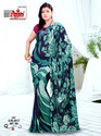 Stylish Traditional Crepe Sarees