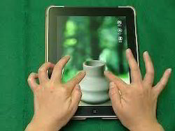 Saw Touch Screen