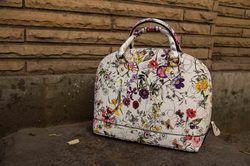 Floral Dome Bag