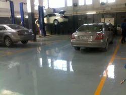 Automobile Workshop Flooring Services