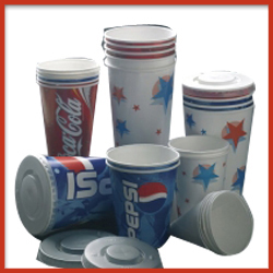 PE Coated Paper Cups with Printing