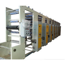 Industrial Rotogravure Machine
