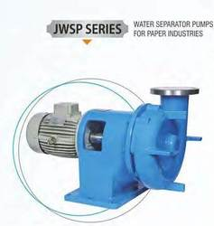 Water Separator Pump for Paper Industries
