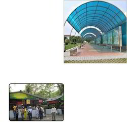 Dome Polycarbonate Sheet for Canteen