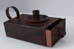 Metal Candle Holder Box
