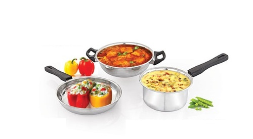 3pc Induction Cookware Set