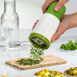 Herb Mill Chopper Cutter Mince Stainless Steel Grinder