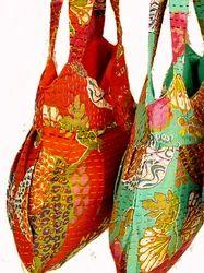 Colorful Kantha Hobo Bag