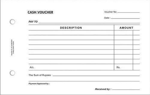 petty cash voucher template excel