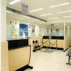 HDFC Bank Interior Design