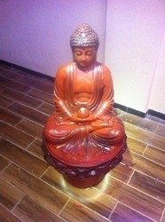 Lotus Buddha LED Fountain
