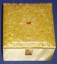 Zari Embroidered Jewelry Box