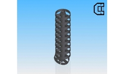 Metallic Enclosed Cable Drag Chains