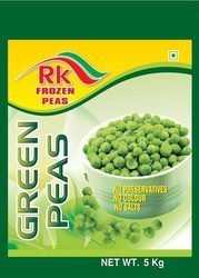 Frozen Peas Packaging Plastic Bags