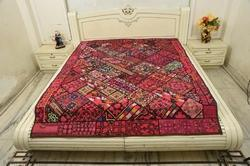 Paki Handmade Antique Wallhanging Bed Cover