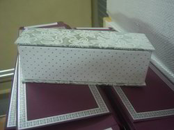Empty Scroll Boxes for Wedding Invitation Designers