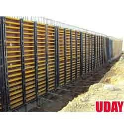 Wall Formwork For 8 Mtr High Walls Of Aquaduct