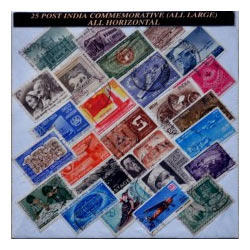 25 Stamps From Indian States