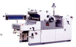 offset printing with numbering perforation machine