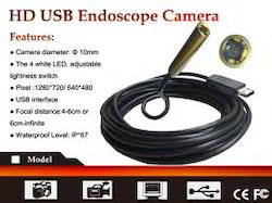 HD USB Endoscope Camera