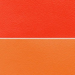 Orange Artificial Leather Cloth