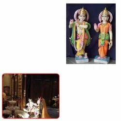 Marble Radha Krishna Statues for Temple
