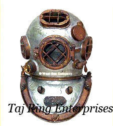 Iron Diving Helmet