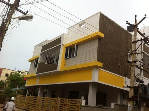 Wood Cladding Elevation : Wall cladding nano manufacturer from chennai
