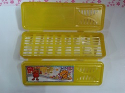 Double Door Pencil Box