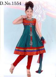 Children Churidar Masakali Suits