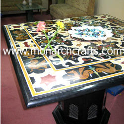 Inlaid Side Tables Tops