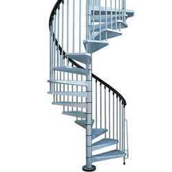 Fabricated Spiral Staircase