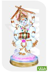 Vaah Resin Dandiya Ganesh Showpiece