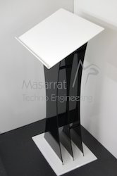 Acrylic Podium ( Black & White )