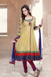 Beautiful Design Contrast Colour Combination Suit