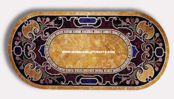 Marble Inlay Pietra Dura Table Top