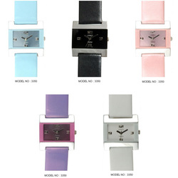 Ladies Leather Band Watches