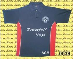 Football Collar T Shirt