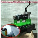 Portable Key Way Milling Machine for Paper Industry