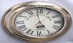 Brass London Wall Clock