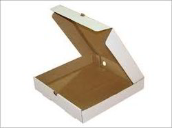 Plain Pizza Box