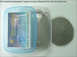 Pure Titanium Metal Powder 1 Kg Pack