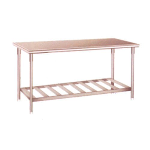 Work Table Under Shelf
