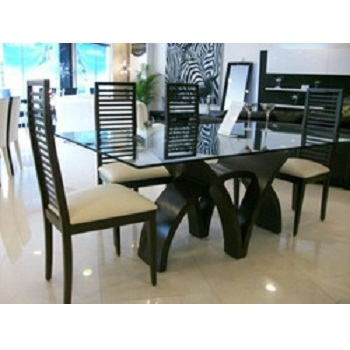 Designer dining table wooden dining room furniture st for Dining table set latest design