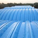 Plastic Structureless Roofing System