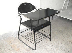 Perforated Chair with Full Writing Pad