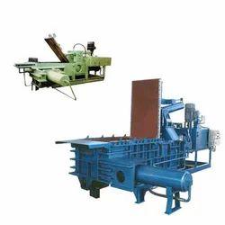 Triple Action Hydraulic Scrap Baling Presses