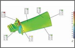 turbine blade qc inspection